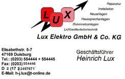 Elektroinstallation, LAN, Netzwerktechnik